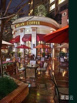 成都米兰咖啡鹭岛店